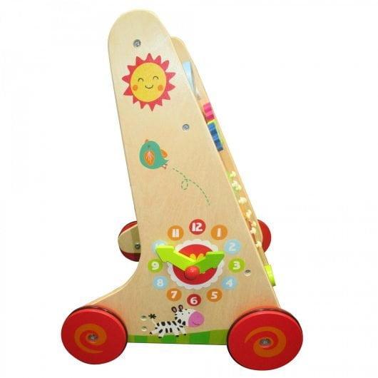 wooden walker for baby