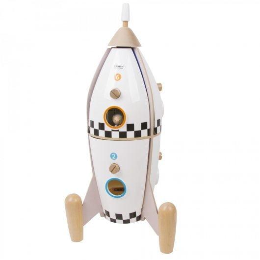 Classic World Wooden Rocket Ship