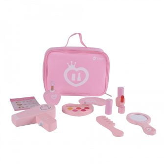 Classic World 9 Piece Pink Make-Up Set