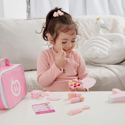 Classic World 9 Piece Pink Make-Up Set