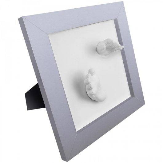 Happy Hands 3D Deluxe Silver Frame
