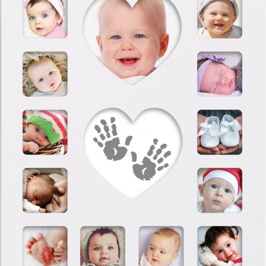 Happy Hands Baby Inkless First Year Frame Kit