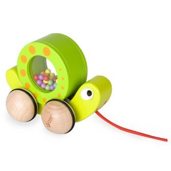 Classic World Pull Snail & Rattle