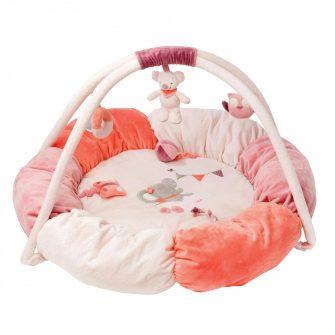 Nattou Stuffed Playmat - Adele & Valentine