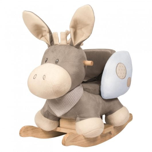 Nattou Rocker Cappuccino Donkey