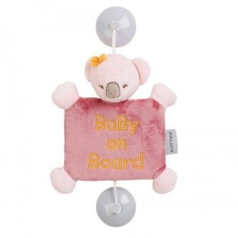 Nattou Baby on Board Sign - Iris the Koala