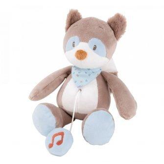 Nattou Mini Musical Toys Bob the Raccoon