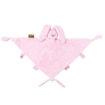 Nattou Plush Lapidou Maxi Doudou - Light Pink