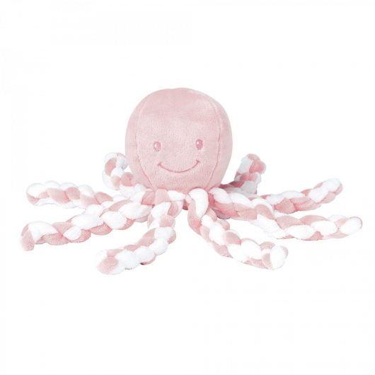 Nattou Piu Piu Light Pink and White
