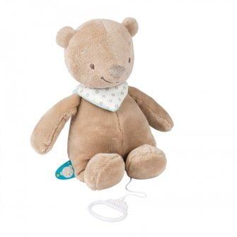 Nattou Musical Toys Basile the Bear