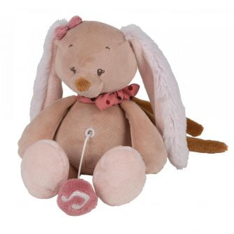 Nattou Mini Musical Toys Pauline the Bunny