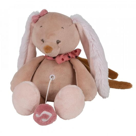 Nattou Mini Musical Toys Pauline the Bunny