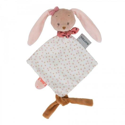 Nattou Doudou Mini Pauline the Bunny
