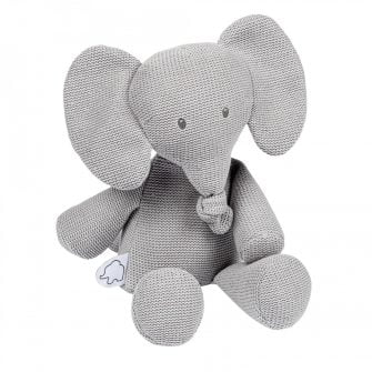 Nattou Tembo Elephant Cuddly Grey