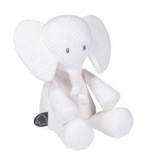 Nattou Tembo Elephant Cuddly White