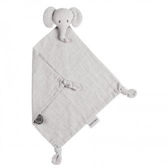 Nattou Tembo Elephant Doudou 30cm Swaddle Grey