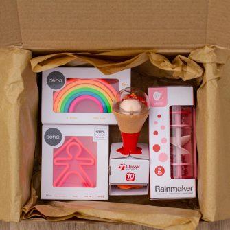 Hippychick Sensory Gift Bundle Red Sensory Box