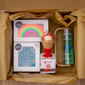 Hippychick Sensory Gift Bundle Blue Sensory Box
