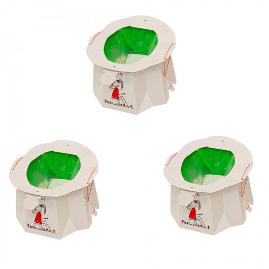 Hippychick Tron Disposable Potty