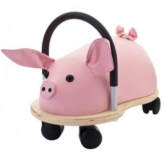 Wheelybug Ride On - Pig