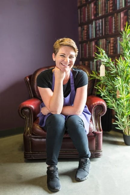 Kate - Owner of Somerset Business Purple Spoon